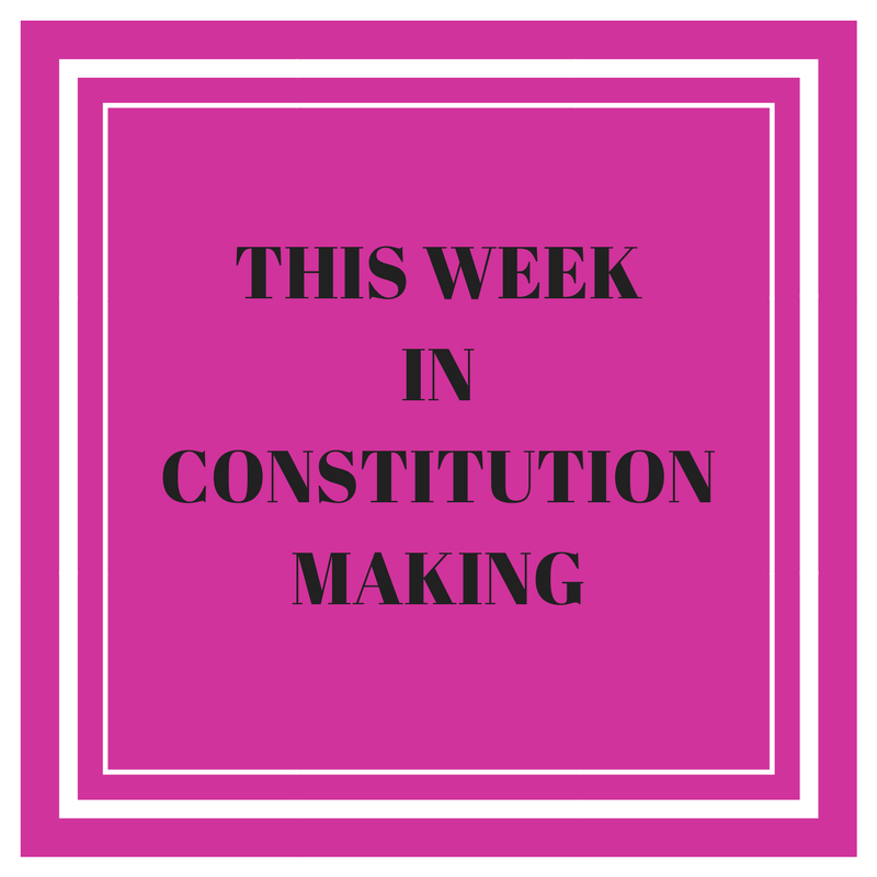 This year that week inconstituent assembly