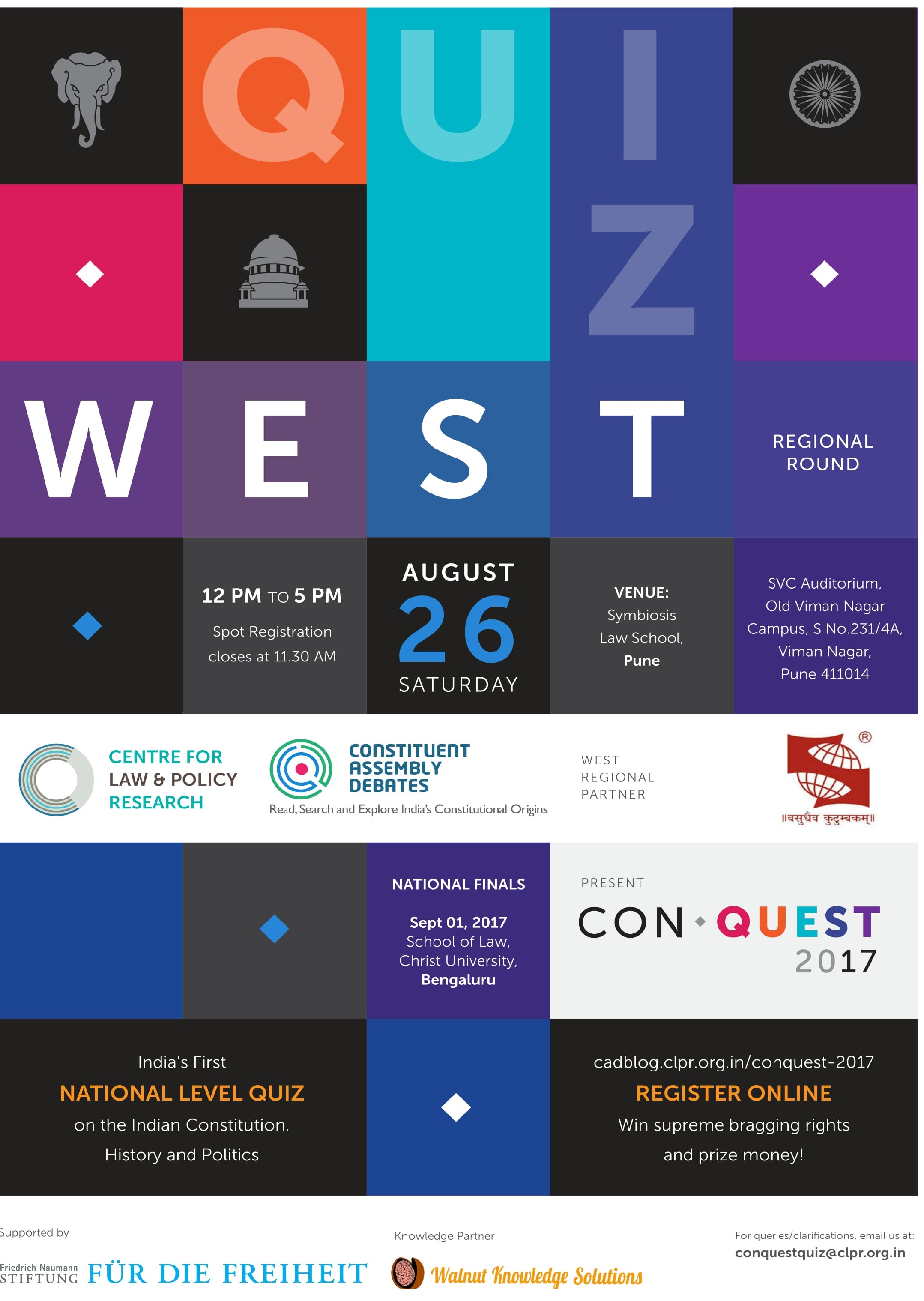 Conquest poster west 1 1 1