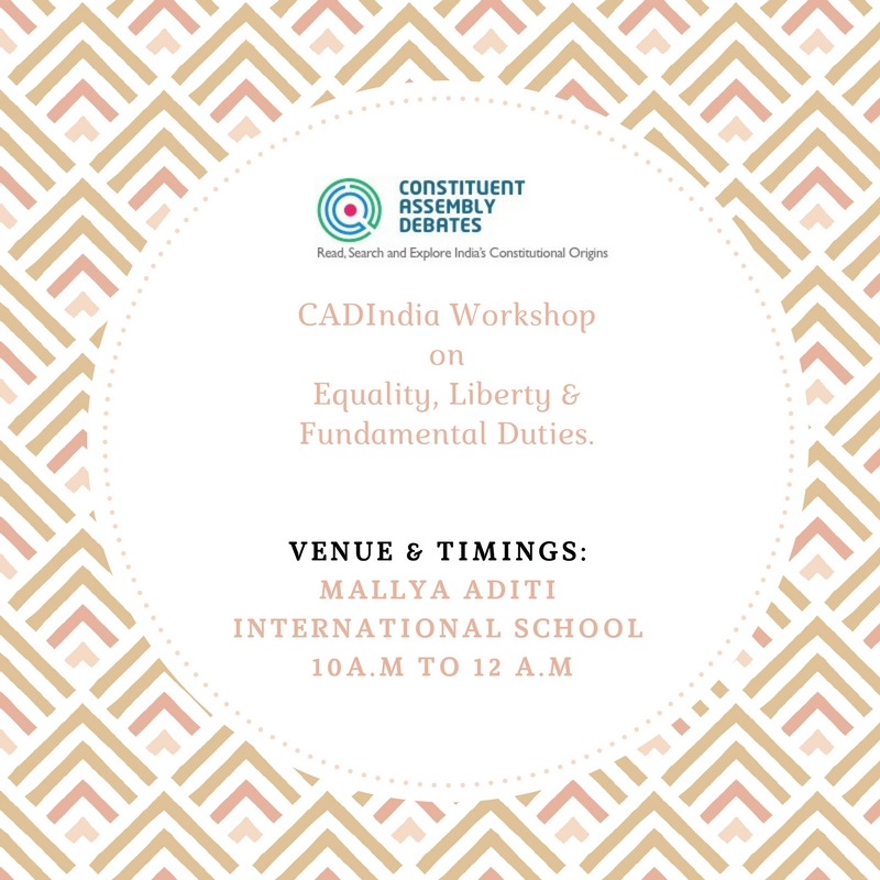 Cadindiaworkshop