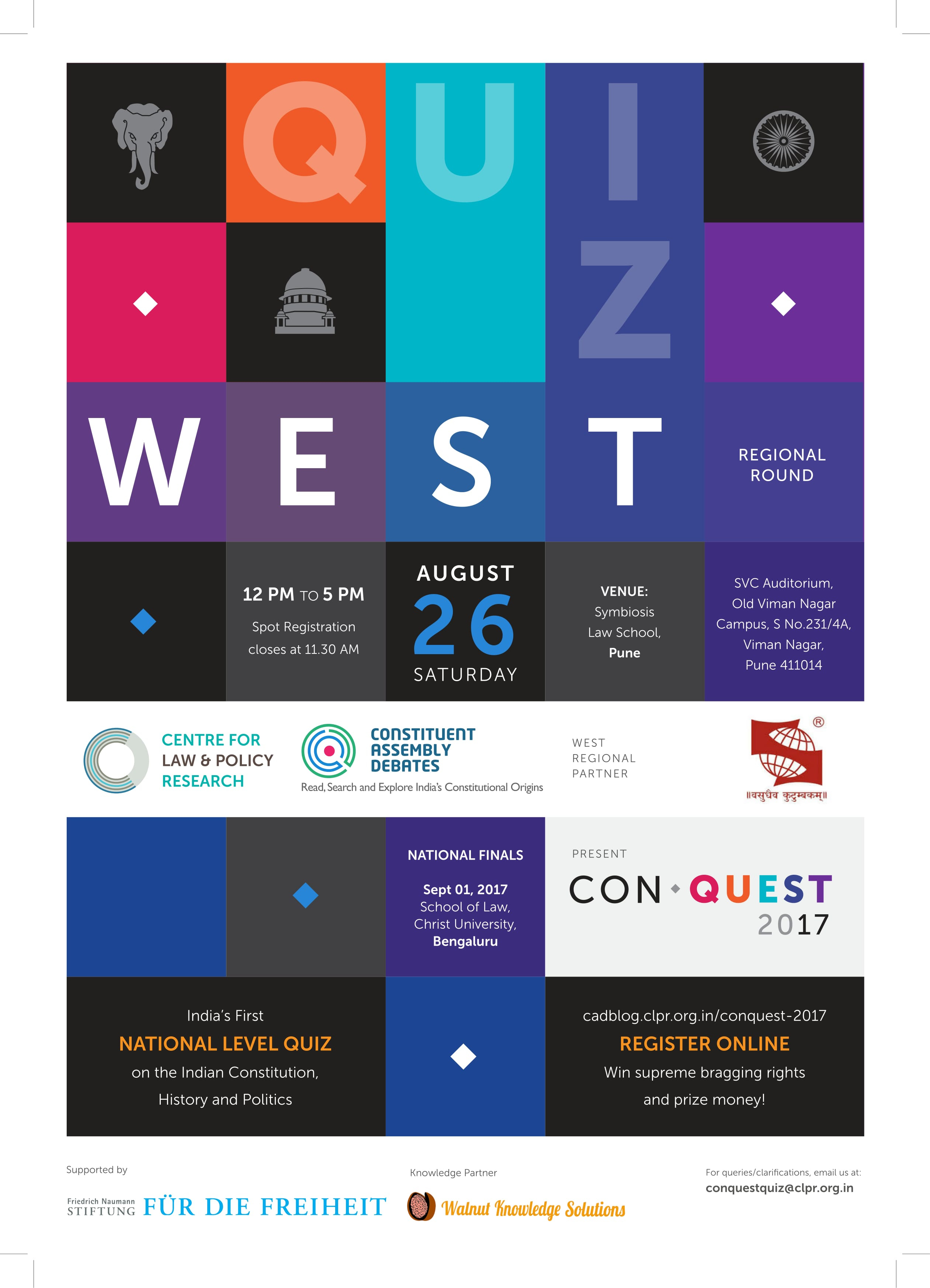 Conquest poster west 1 1